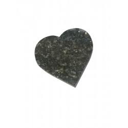 Grafdecoratie hart