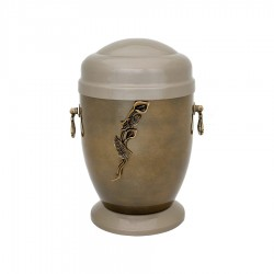 Metalen urn MT-46
