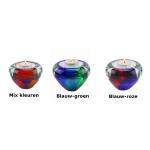 Mini urn van glas met waxinelichtje GL-08