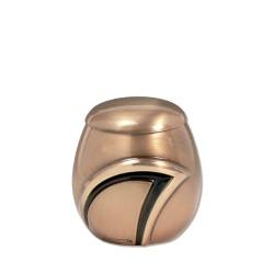 Kleine urn brons